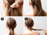 Easy One Minute Hairstyles 27 Easy Five Minutes Hairstyles Tutorials Pretty Designs