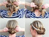 Easy One Minute Hairstyles 5 Minute Hairstyles for School A Birthday Cake