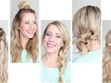 Easy One Minute Hairstyles Min Hairstyles for Cute Minute Hairstyles Cute and Easy