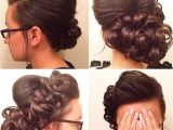 Easy Pentecostal Hairstyles I Could Do without the Big Bump but Make It Smaller and I