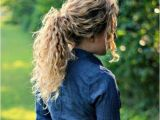 Easy Ponytail Hairstyles for Curly Hair 32 Easy Hairstyles for Curly Hair for Short Long