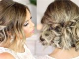 Easy Put Up Hairstyles Curly Hairstyles Upstyles