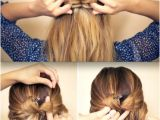 Easy Put Up Hairstyles Put A Bow It 5 Easy Bow Hairstyles