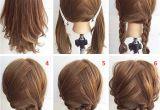 Easy Steps for Hairstyles for Medium Length Hair Easy Step by Step Hairstyles for Medium Hair