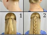 Easy Steps Of Hairstyles to Do at Home Easy Updos for Long Hair Step by Step to Do at Home In