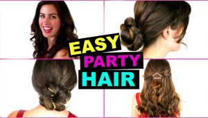 Easy to Do Going Out Hairstyles Easy & Quick Party Hairstyles Great for Going Out
