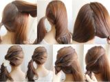 Easy to Do Hairstyles for Long Hair Step by Step 20 Cute Easy Hairstyles Collection 2017 Sheideas