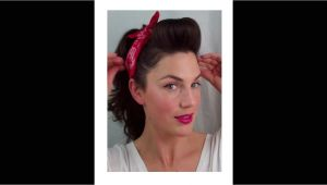 Easy to Do Pin Up Hairstyles 6 Pin Up Looks for Beginners Quick and Easy Vintage