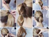 Easy to Do Ponytail Hairstyles 3 Easy Ways Back to School Hairstyles Vpfashion