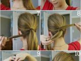 Easy to Do Ponytail Hairstyles top 10 Fashionable Ponytail Tutorials top Inspired