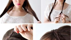 Easy to Make Hairstyles at Home Creative Hairstyles that You Can Easily Do at Home 27