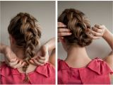 Easy Upstyle Hairstyles Braided Upstyle Hair Romance On Latest Hairstyles Hair