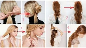 Easy Way to Make Hairstyles 3 Fast and Easy Ways to Make Amazing Hairstyle