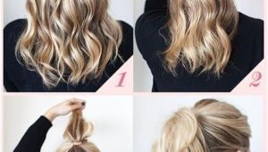 Easy Work Hairstyles for Short Hair 15 Cute and Easy Ponytail Hairstyles Tutorials Popular