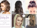Easy Work Hairstyles for Short Hair Friday Five Hair Styles for Short Hair Work Wear Wander