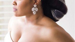 Ebony Wedding Hairstyles 8 Glam and Gorgeous Black Wedding Hairstyles