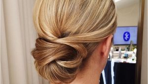 Elegant Hairstyles Buns Get Inspired by This Fabulous Simple Low Bun Wedding Hairstyle