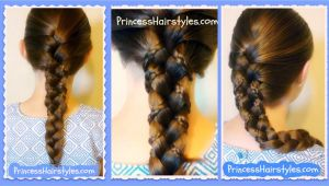 Everyday Easy Hairstyles for Medium Hair Dailymotion Micro Braid Lattice Wrap Hairstyle Tutorial for Long and Medium Hair