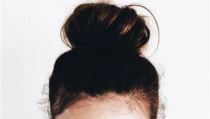 Everyday Hairstyles Tumblr Dark Brunette topknot Buns Casual Everyday Hair