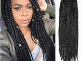 Fake Braids Hairstyles 3x Box Braids Hair Crochet Braids Hairstyles Secret Hair