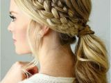Fancy Side Braid Hairstyles 25 Easy Ponytail Hairstyles to Try This Summer Tips for