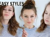 Fast and Easy Hairstyles for Shoulder Length Hair 3 Easy Hairstyles for Medium Length Hair