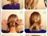 Fast and Easy Hairstyles for Shoulder Length Hair Easy Hairdos for Medium Length Hair