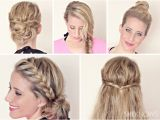 Fast Easy Hairstyles for Wet Hair Hairstyle Tutorials for Wet Hair