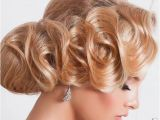 Finger Waves Wedding Hairstyle 15 Chic Wedding Hair Updos for Elegant Brides