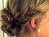 Formal Hairstyles Messy Bun Messy Bun with Braid Google Search Makeup and Hair
