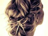 Formal Hairstyles Messy Updo Messy Updo Beauty Pinterest