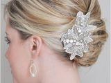 French Roll Hairstyle for Wedding High Bun Updo Wedding
