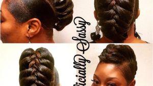 Gator Braid Hairstyle 17 Best Ideas About Black Hair Mohawk On Pinterest