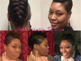 Gator Braid Hairstyle 25 Best Ideas About Black Hair Mohawk On Pinterest