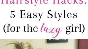 Girl Nerd Hairstyles Hairstyle Hacks 5 Easy Styles Braids Pinterest