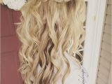 Glamorous Half Up Hairstyles Pin by Shelby Brochetti On Hair Pinterest