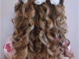 Good Hairstyles for Weddings Flower Girl Hair Ideas