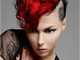 Goth Hairstyles for Curly Hair Punk Hairstyles for Curly Hair
