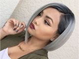 Gray Bob Haircuts 20 Trendy Gray Hairstyles Gray Hair Trend & Balayage