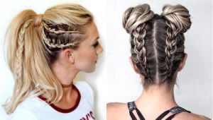 Gym Hairstyles Braid Sporty Hairstyles that Will Make You Stand Out Sporty Hairstyles