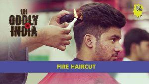 Hair Cutting Zero Machine Fire Haircut In New Delhi