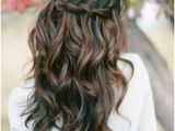 Hair Down Curled Hairstyles 39 Half Up Half Down Hairstyles to Make You Look Perfecta