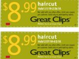 Haircuts for Men Coupons Great Clips Coupon