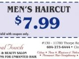 Haircuts for Men Coupons Men S Haircut $7 99 at Professional touch Health