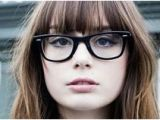Hairstyles Bangs and Glasses 156 Best Glasses Bangs Images
