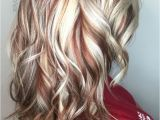 Hairstyles Blonde On top Red Underneath Pin by Sheri Nolen On Hair Color Idea