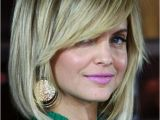 Hairstyles Bob with Side Fringe I Think I Might Try This Long Bob with Side Bangs