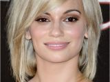 Hairstyles Bob with Side Fringe norma Ruiz Short Hairstyle with Long Side Swept Bangs