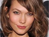 """Hairstyles Bob with Side Fringe Wavy tousled Bob Chin Length Side Bangs""""ask for """"a Classic Bob"""