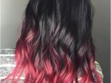 Hairstyles Dip Dyed 40 Vivid Ideas for Black Ombre Hair